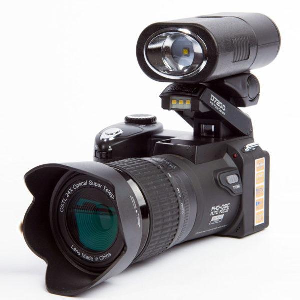 POLO SHARPSHOTS D7200 Digital Camera 33MP Auto Focus HD Video 24X Telephoto Lens Wide Angle LED Fill Light